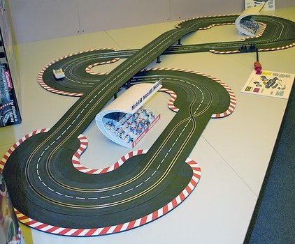 Carrera race track 1:24