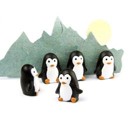 Pinguin-Magnete hält ca. 500 g, Kühlschrankmagnete in Pinguin-Form, 6er-Set