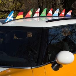 Aileron de requin drapeau drapeau magnétique pour la voiture