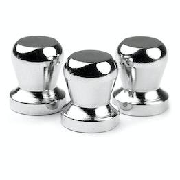 Magneti a birillo 'The Boss' tiene ca. 7 kg, potenti magneti per l'ufficio al neodimio, set da 3
