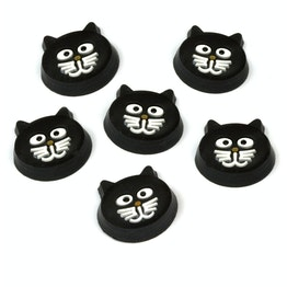 Aimants pour frigo 'Kitty Cat' en forme de chat, lot de 6