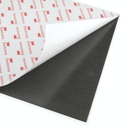 Self-adhesive magnetic sheet neodymium with extra-strong adhesive force, A4 format