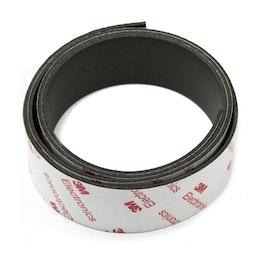 Bande magnétique adhésive néodyme 30 mm bande magnétique autocollante, force d'adhérence extra-forte, rouleau de 1 m