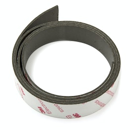 Magnetic adhesive tape neodymium 20 mm self-adhesive magnetic tape, extra-strong adhesive force, roll at 1 m