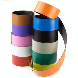 Coloured magnetic tape 40 mm for labelling and cutting, rolls of 1 m
