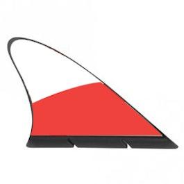 Aileron de requin drapeau drapeau magnétique pour la voiture, Pologne