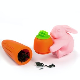Tea infuser Rabbit&Carrot silicone tea infuser, non-magnetic!