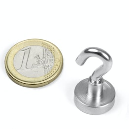 FTN-16 Hook magnet Ø 16 mm, thread M4, strength approx. 8 kg