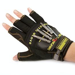 Gants magnétiques M pour clous, vis, embouts, etc., paire de gants de taille M