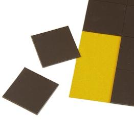 Takkis 30 x 30 mm zelfklevende magneetplaatjes, 20 plaatjes per vel