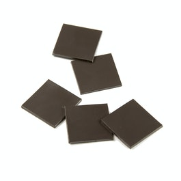 Takkis 20 x 20 mm self-adhesive magnetic squares, 40 pieces per sheet