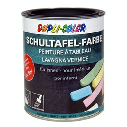 Chalkboard paint L 750 ml for an area of 6 m², black or green, not magnetic!