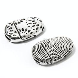 Cierre magnético decorativo para bisutería para pulseras, sujeción extrafuerte