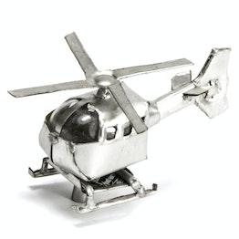 MadagasCAR mini-veicoli magnetici da vecchi barattoli di latta, elicottero