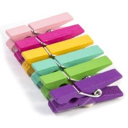 Mollette magnetiche 'Kolor Klip' tiene ca. 400 g, mollette magnetiche da bucato colorate, set da 6