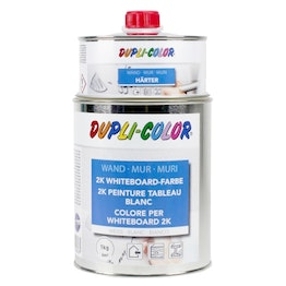 Whiteboard paint L 1litre for an area of 6 m², white, not magnetic!