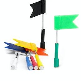 Vlaggetjesmagneten om te presenteren en te organiseren, kleurig geassorteerd, set van 6