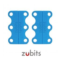 Zubits® S lacci magnetici per le scarpe, per bambini & anziani, azzurro