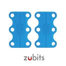 Zubits® S magnetic shoe closures, for children & the elderly, light blue