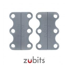 Zubits® S lacci magnetici per le scarpe, per bambini & anziani, grigio