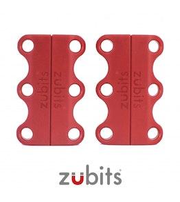 Zubits® S magnetische schoenveters, voor kinderen & senioren, rood