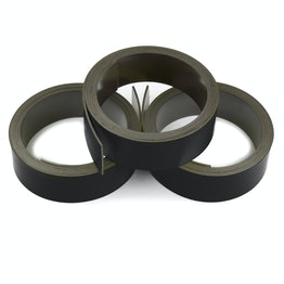 Coloured magnetic tape 20 mm for labelling and cutting, rolls of 1 m, black