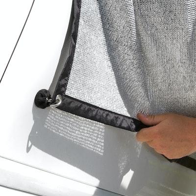 alunet toile d 39 ombrage pour la voiture protection pour. Black Bedroom Furniture Sets. Home Design Ideas
