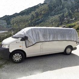 Parasol Alunet 80 % L parasol para coches y jardines, 3 x 6 m