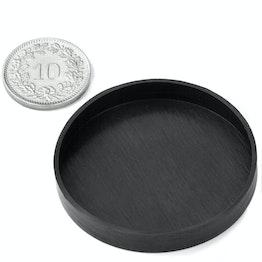 Rubber kappen Ø41mm ter bescherming van oppervlakken