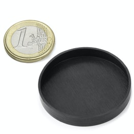 Rubber caps Ø 41 mm to protect surfaces