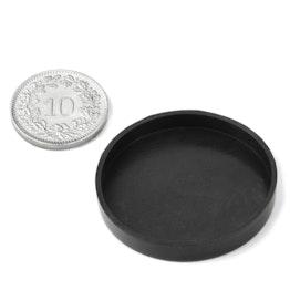 Cappucci di gomma Ø33mm a protezione delle superfici