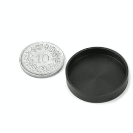 Rubber caps Ø26mm to protect surfaces