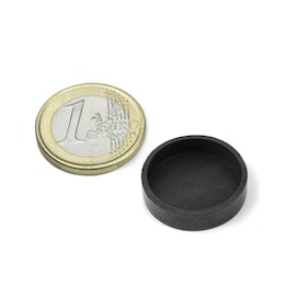 Rubber caps Ø 21 mm to protect surfaces