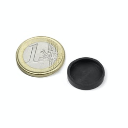 Rubber caps Ø 17 mm to protect surfaces
