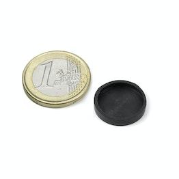 Cappucci di gomma Ø17mm a protezione delle superfici