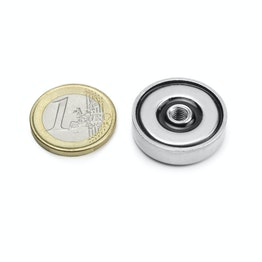 ITN-25 Pot magnet with internal thread M5, Ø 25 mm