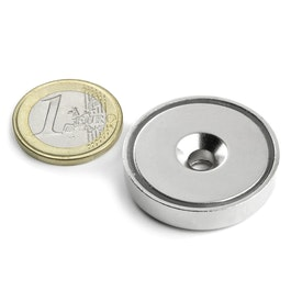 CSN-32 Countersunk pot magnet Ø 32 mm, strength approx. 30 kg
