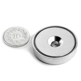CSN-32 Countersunk pot magnet Ø 32 mm, strength approx. 30 kg