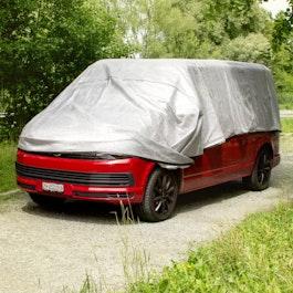 Parasol Alunet 80 % XL parasol para coches y jardines, 4 x 6 m