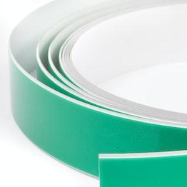 Metallband selbstklebend weiss 35 mm selbstklebender Haftgrund für Magnete, Rollen à 1 m / 5 m / 25 m