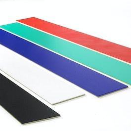 Barra magnetica autoadesiva 50 cm supporto autoadesivo per magneti, in metallo
