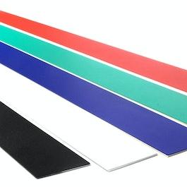 Magnetleiste selbstklebend 80 cm selbstklebender Haftgrund für Magnete, aus Metall