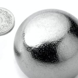K-40-C Bille magnétique Ø 40 mm, néodyme, N40, chromé