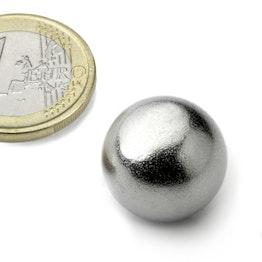 K-19-C Bille magnétique Ø 19 mm, néodyme, N38, chromé