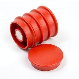 Boston Xtra rotondi 25 pezzi confezione grande con 25 magneti per l'ufficio al neodimio