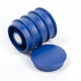 Boston Xtra round set of 5 office magnets neodymium, round, blue