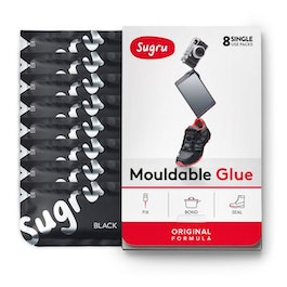 Sugru Set of 8 mouldable glue, in different colours, packages of 5 g each
