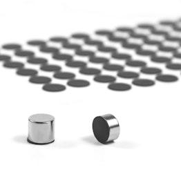 Gummischeiben selbstklebend Ø 12 mm zum Schutz von Oberflächen, 98 Stück pro Set