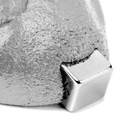 Intelligent putty magnetisch ferromagnetische klei, zilverkleurig, levering zonder magneet
