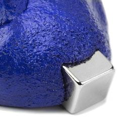 Intelligente Knete magnetisch ferromagnetische Knete, blau, Lieferung ohne Magnet